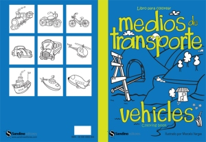 Vehicles Coloring Book