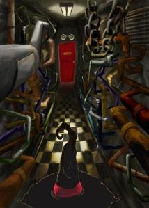 The Monster & Mab Ipswich (corridor)